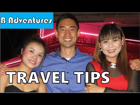 Thailand & Vietnam, Attitude, Police, Taxis, Commissions, Languages, Bargaining, Travel Tips Ep8