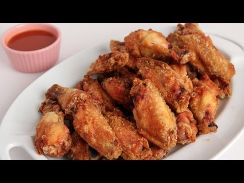 Crispy Homemade Wings Recipe - Laura Vitale - Laura in the Kitchen Episode 277