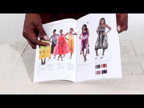 Africa Imports African Clothing & Artwork Catalog: 96pg