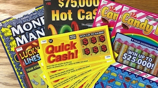 4 Winners! Kansas Lottery Scratch Offs