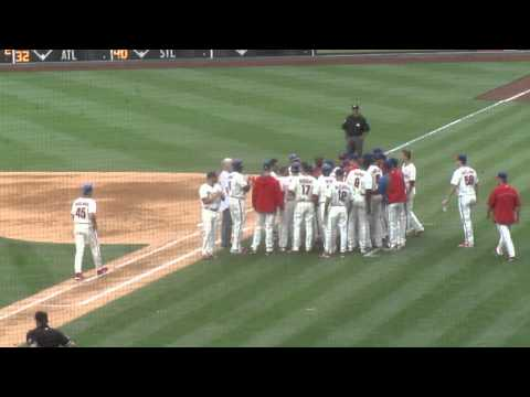 Jimmy Rollins Breaks Phils' Career Hit Record 6-14-2014