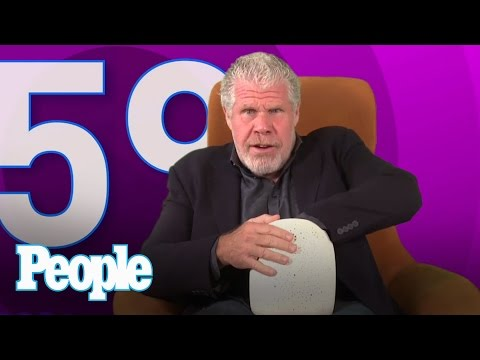 Ron Perlman Loves Free Cigars, Swearing and Kisses From Val Kilmer - PEOPLE