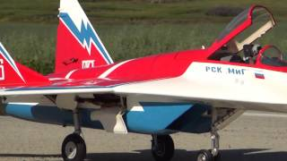Skymaster MIG29 powered by Kingtech G180 over PnG