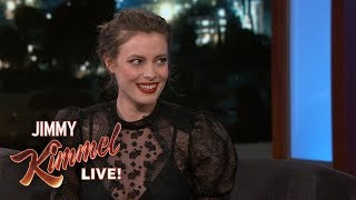 Gillian Jacobs Fell Down a Flight of Stairs