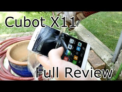 """Cubot X11 Full Review - The best and slimmest """" waterproof """" Sony Xperia Clone ! [4K]"""