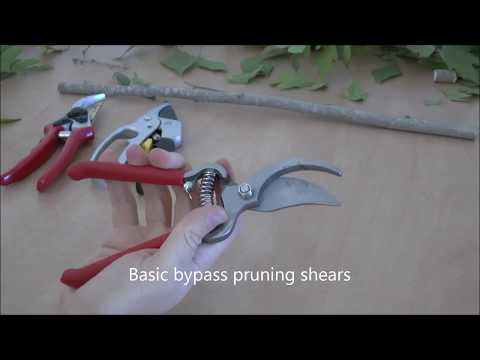 Pruning shears review 2017 by V-Garden