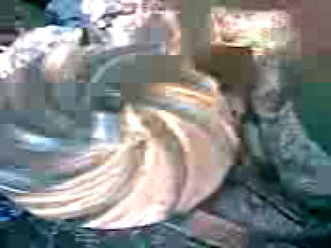 como hacer paleta centrifugacon fresadora vertical