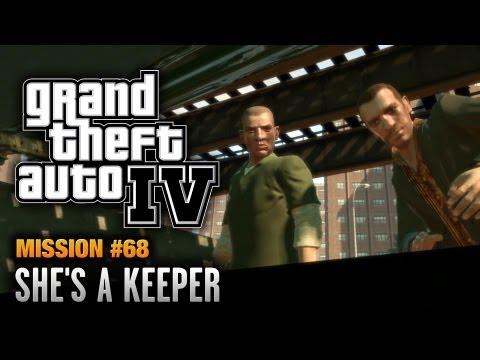 GTA 4 - Mission #68 - She's a Keeper (1080p)