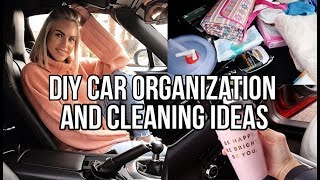 DIY CAR ORGANIZATION AND CLEANING IDEAS AD