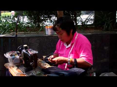 Bangkok Sewing Woman