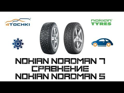 Шины Nokian Nordman 5 сравнение Nokian Nordman 7 на 4 точки. Шины и диски 4точки - Wheels & Tyres