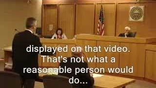 Caught on tape: Cop's ever-changing story turns into lawyer's field day