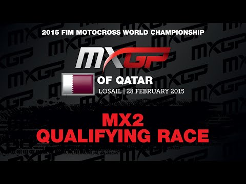 MXGP of Qatar 2015 MX2 Qualifying Race - Motocross