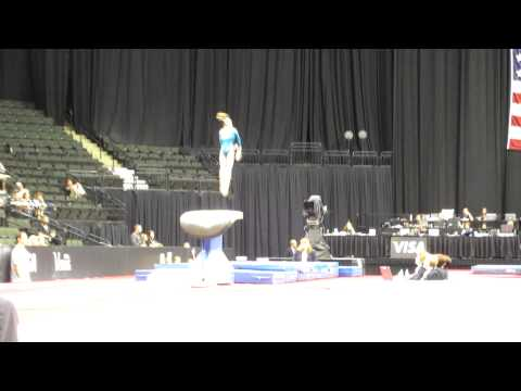 Ballie Key - 2011 Visa Championships - Vault