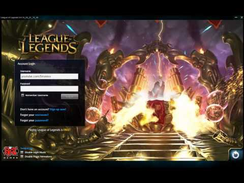 URF 2015 Login Theme Music  Screen  Ultra Rapid Fire