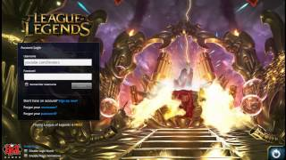 URF 2015 Login Theme Music & Screen [ Ultra Rapid Fire ]