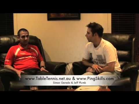 PingPod #10 - An interview with Simon Gerada of Health Wellness and Table Tennis