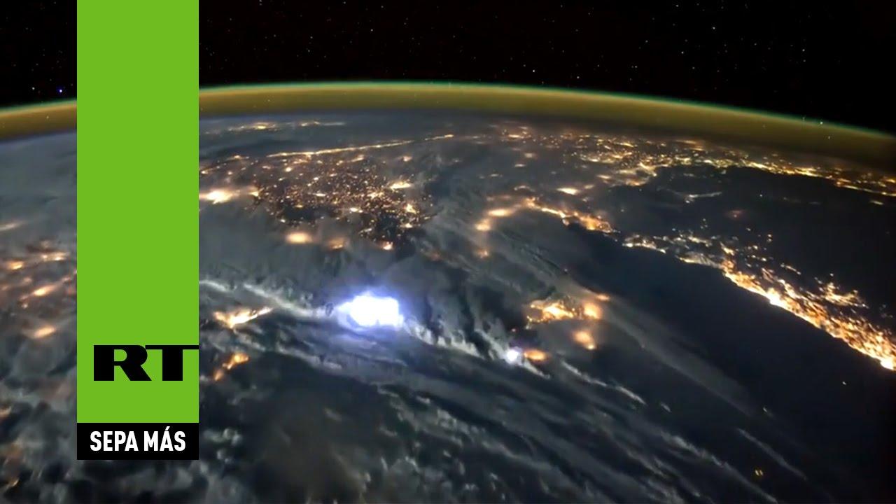 Admiren las tormentas eléctricas de la Tierra desde el espacio