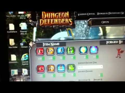 how to mod on eternia crystal dungeon defenders