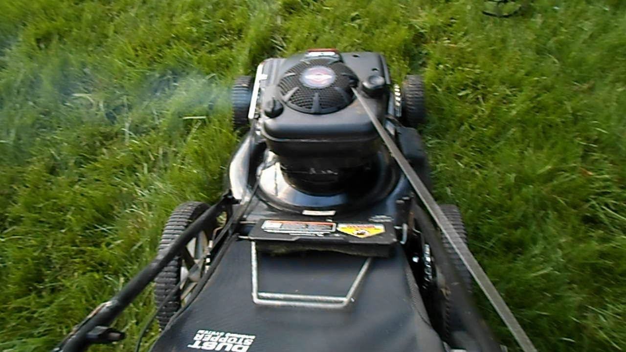 """Murray 22"""" Lawn Mower 6 5 HP OHV First Start after"""