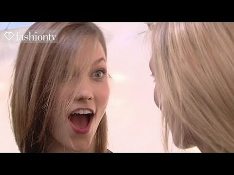 First Face - #6 Model Karlie Kloss - Fall 2011 First Face Countdown | FashionTV - FTV.com