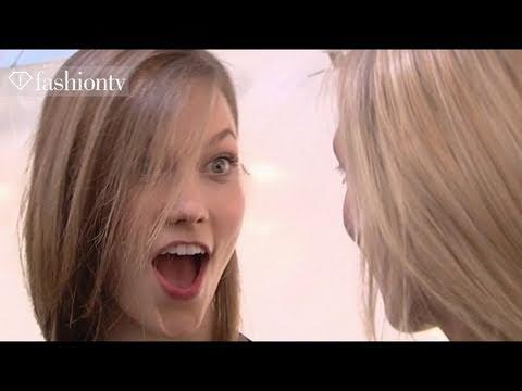 First Face - #6 Model Karlie Kloss - Fall 2011 First Face Countdown | FashionTV - FTV.com