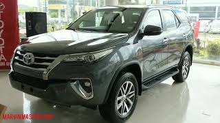 All New Toyota Fortuner 4x2 V(Top-end) 2.4L DSL - Gray Metallic (Philippines) - Walk around