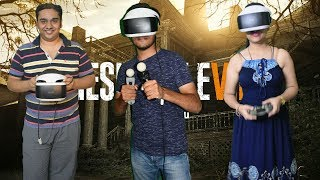 PS4 VR Setup & Resident Evil 7 Gameplay In HINDI 2018.