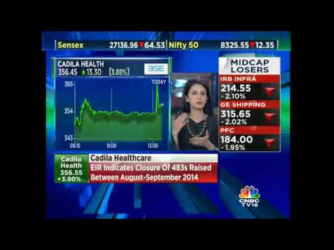 Cadila Healthcare's Moraiya Unit Receives EIR From US FDA