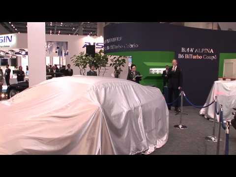 Alpina: The 42nd Tokyo Motor Show 2011 Press Conference