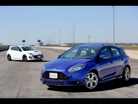 2013 Ford Focus ST vs 2013 MazdaSpeed3 Comparison