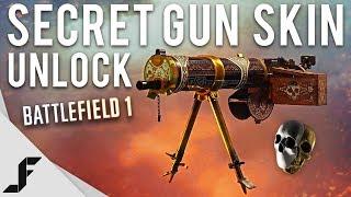 SECRET WEAPON SKIN - Battlefield 1 How to Unlock!