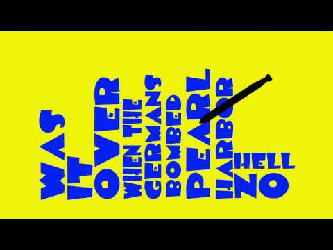 Bluto's Speech Animal House, Motion Graphics Project