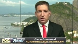 "Glenn Greenwald ""A LOT Of People In The Intelligence Community Signaling Trump They Can Harm Him!"""