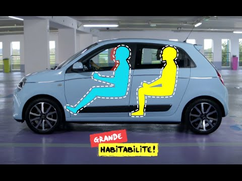 New Renault Twingo – A rear engine for impressive  comfort !