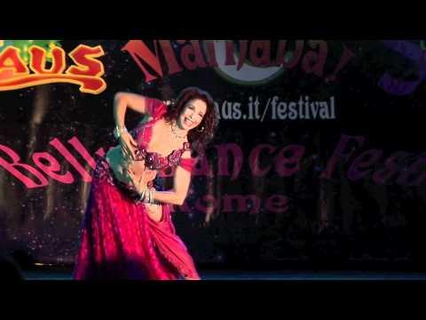 New! Jillina Belly Dance at Marhaba Belly Dance Festival Rome...