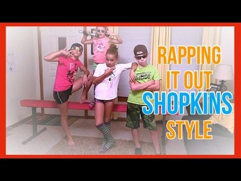 SHOPKINS RAP • Cooly COOL & Dum MEE Mee   Love My Life x4