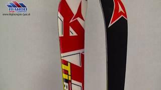 lyze ATOMIC RACE SL Ti RED/white, woodcore, titanium, sidewall, handmade + Atomic NEOX TL 12