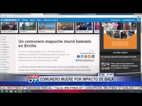 Muere comunero mapuche en Ercilla