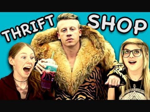 Teens React To Thrift Shop (macklemore & Ryan Lewis) video