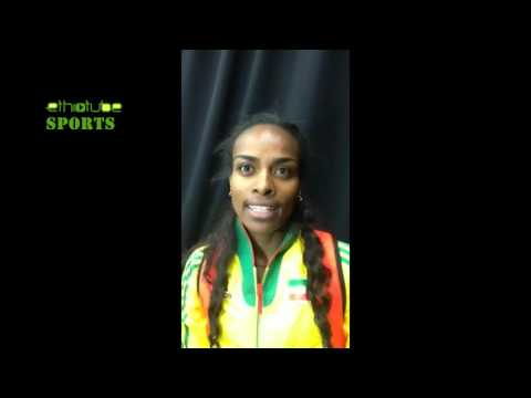Portland 2016 | Post-race Interview with 3000m Gold Medalist Genzebe Dibaba of Ethiopia
