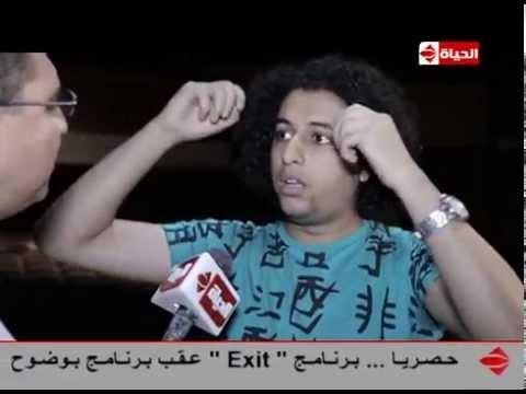 بوضوح - صلاح الدالى نجم تياترو مصر الموسم الثالث لــ عمرو الليثى : انا لية محلقتش شعري