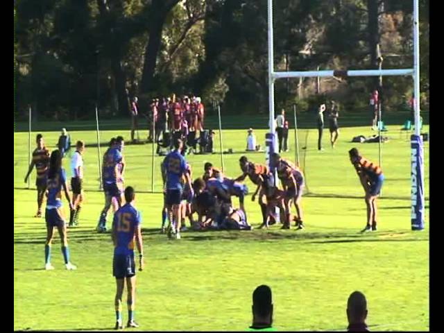 2012 Round 16 Tries vs Wests Subiaco