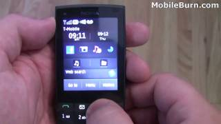 Nokia X3 Touch and Type unboxing and feature tour