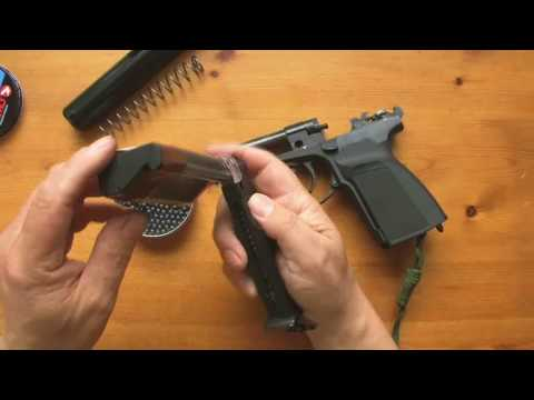 Makarov Co2 pistol by Baikal Part 1
