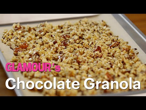 Homemade Chocolate Granola for a Healthy On-the-Go Snack—Treat Yourself—Glamour