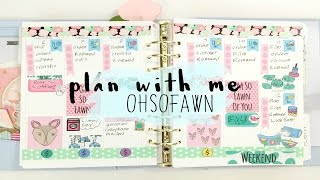 Plan With Me | Oh So Fawn