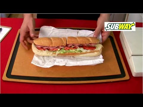 Playing With Your Food - Subway, Quiznos & More