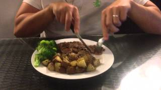 Steak with Potatoes and Broccoli | The Best Thing I Ever Ate Contest | Food Network Asia
