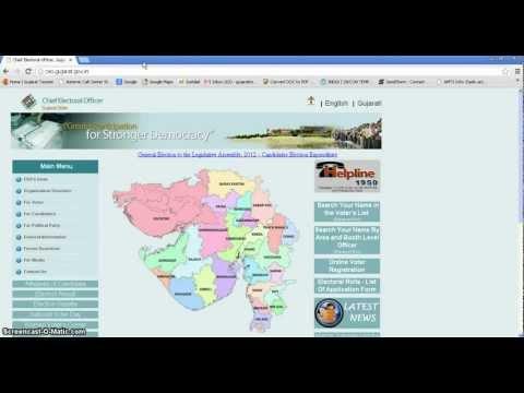 How To Do Online Voter Id Registration For Gujarat